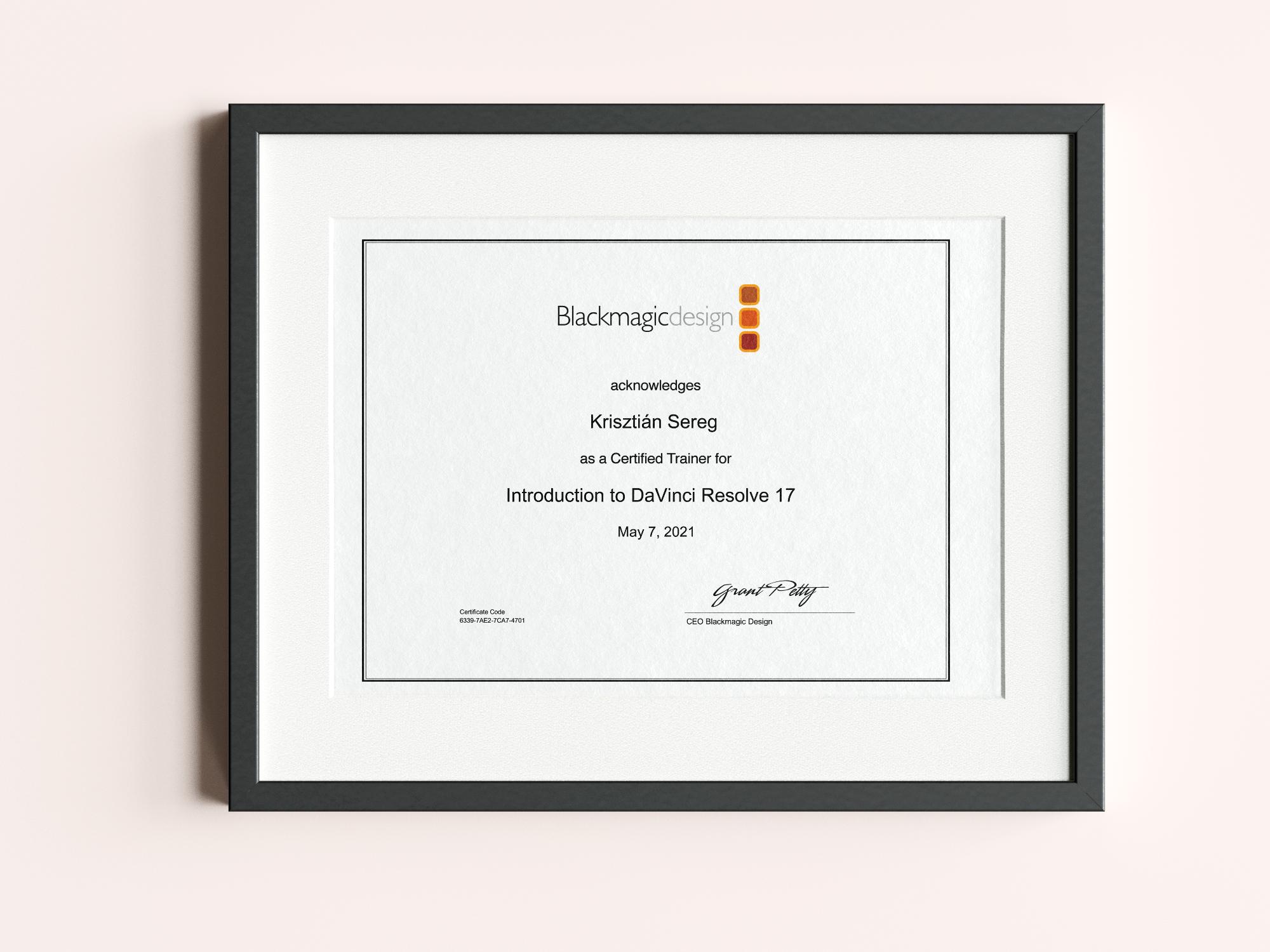davinci-resolve-trainer-certificate